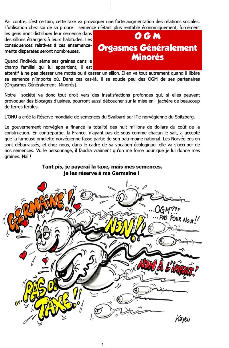 Extrait « Les chroniques déjantées de Gérard l'Alsacien »