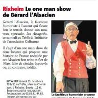 Gérard l'Alsacien et la presse